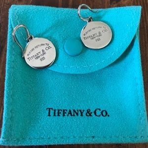 Tiffany & Co. silver drop earrings